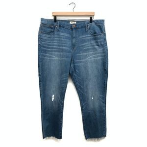 New Madewell Plus Size High Rise Jeans - Size 35